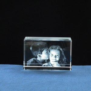 Foto in Glas - Blok Liggend