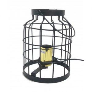 Tafellamp draadmetaal zwart