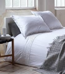 Hotel Suite! Dekbedovertrek 1 Persoons, 'Monaco', Wit, 140x220cm